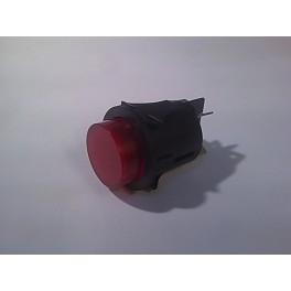 Włącznik elektryczny okrągły, podświetlany